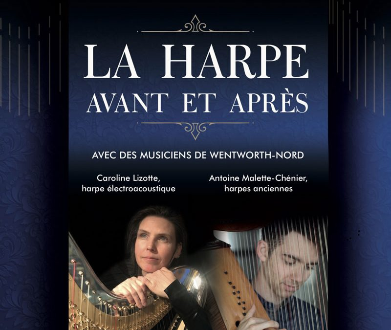 :: Stellar Sonata for electroacoustic harp :: in Quebec pre-premiere on June 8th